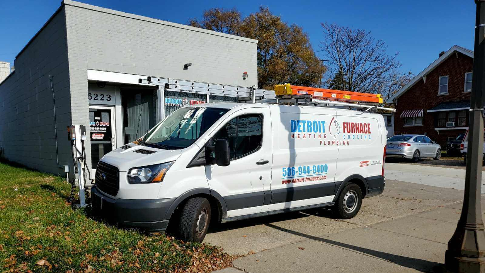 If you see our truck parked out front, you know you're at the right place for great HVAC work.